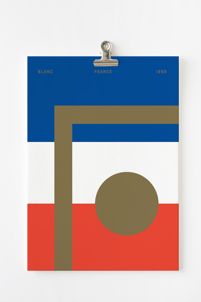 Iconic World Cup Posters par Nick Barclay
