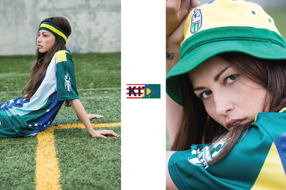 Kith version football, le lookbook