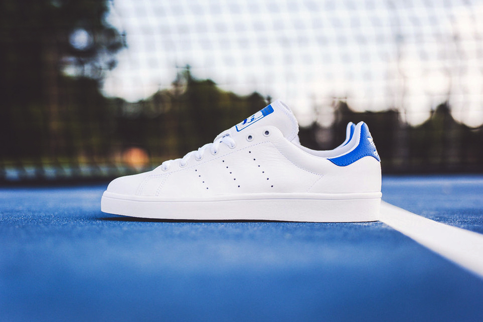 Adidas Stan Smith Vulc White/Royal