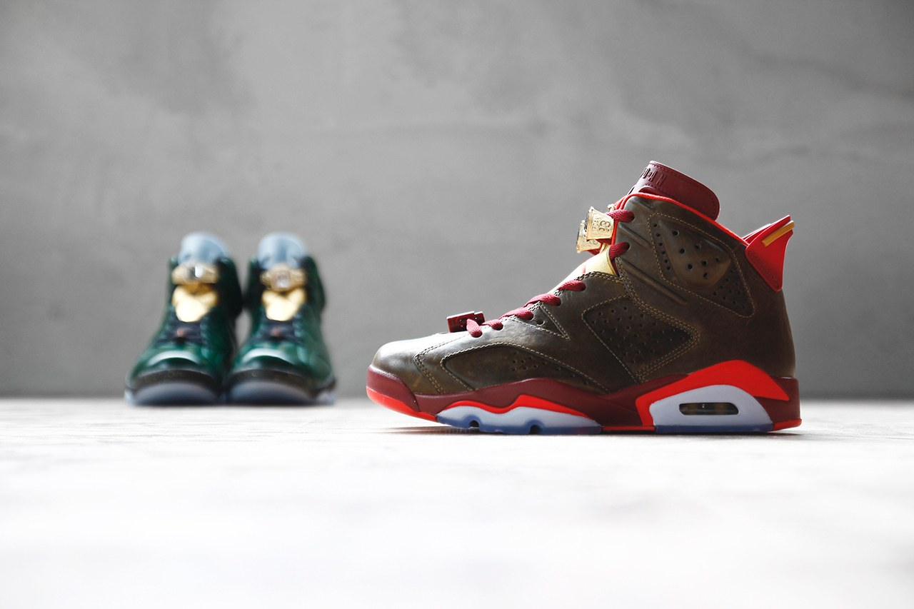 Air Jordan 6 Retro « Championship cigar and champagne » Pack