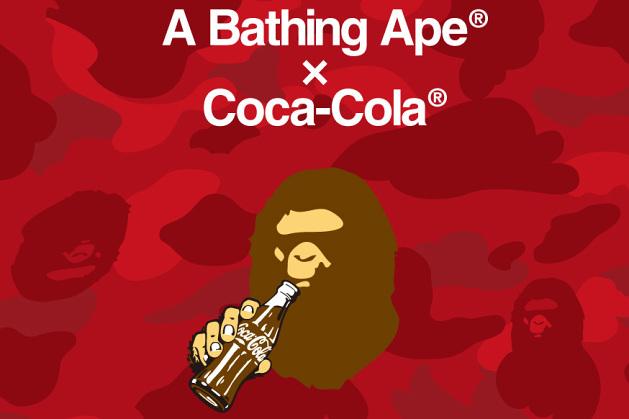 A Bathing Ape x Coca-Cola – Collection capsule annoncée !