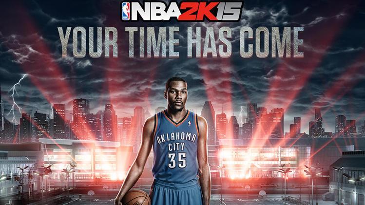 Trailer NBA 2K15 avec Kevin Durant