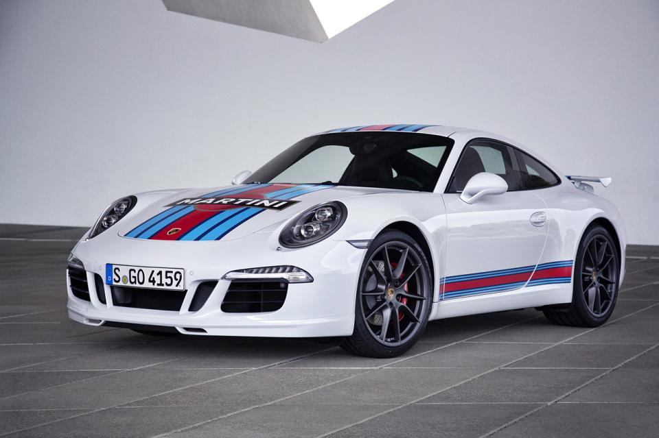 Porsche fête son retour au 24h du Mans avec son édition Martini Racing
