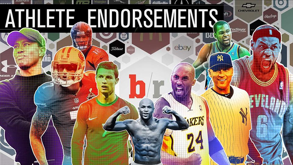 Quelles marques sponsorisent les plus grands athlètes ?