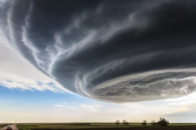 Le National Geographic Traveler 2014 a la tête dans le nuage