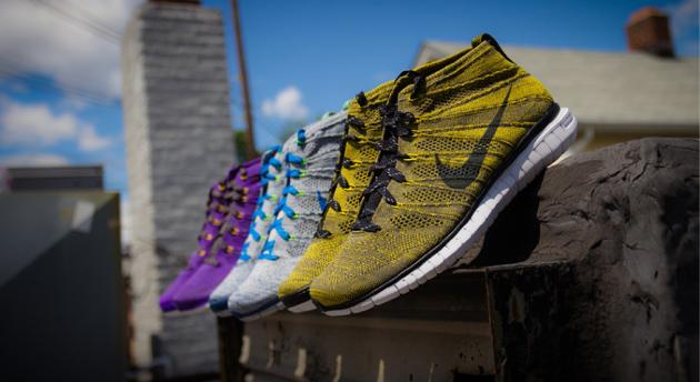 Nike annonce trois nouvelles couleurs pour la Flyknit !