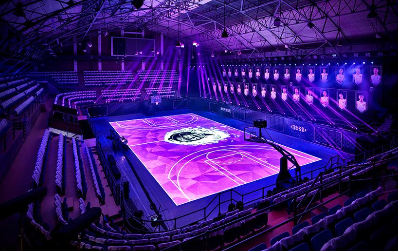 Nike «house of mamba», le playground fait de LED