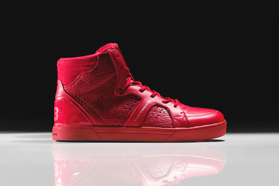 """Y-3 Rydge """"All Red"""""""