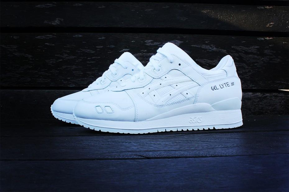 Asics Gel-Lyte III Pure White