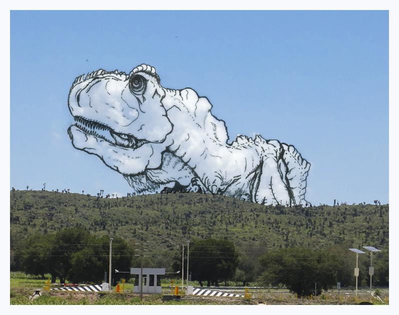 Martín Feijoó Shaping Clouds T-Rex