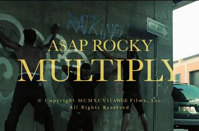 Regardez le nouveau clip d'A$ap Rocky, «Multiply»