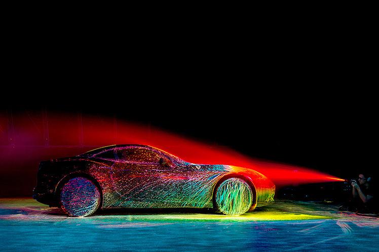 La Ferrari California T en version très colorée !
