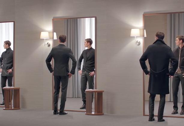 La collection prêt à porter pour homme d'Hermès dans «Men etcetera»