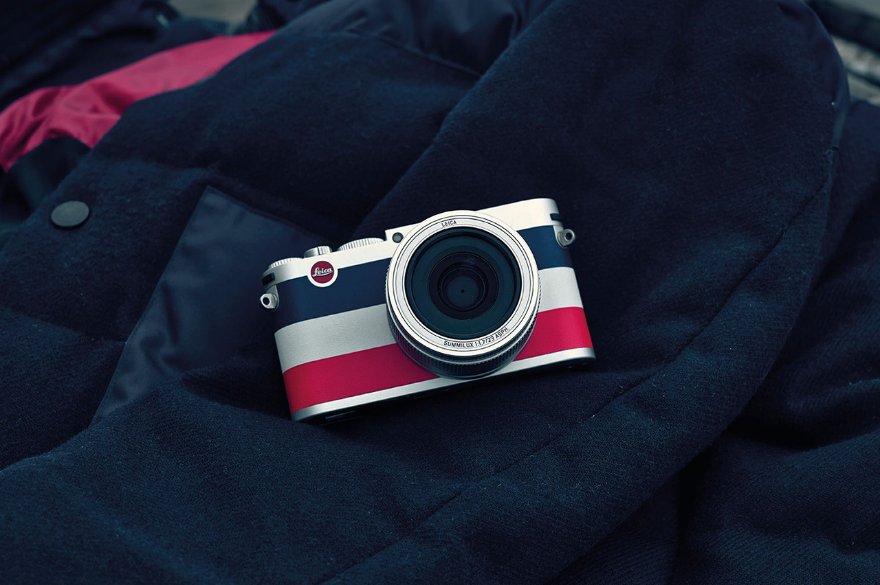 Leica x Moncler : appareil photo 113 compact exclusif
