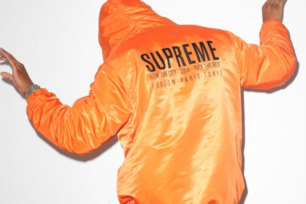 Terry Richardson x Supreme pour le magazine Sense
