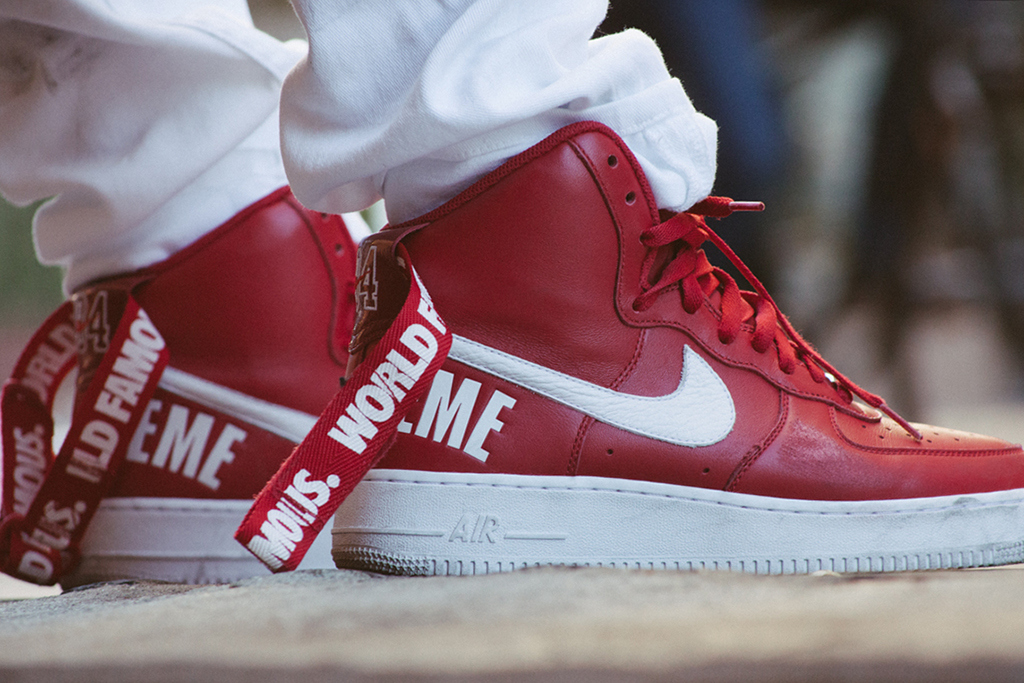 Supreme x Nike : Air Force 1 High Collection Automne / Hiver 2014