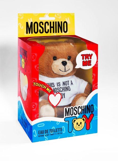 Moschino lance le parfum «Toy» pour Noël!