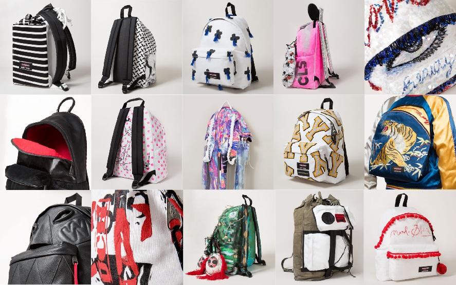 Eastpak Artist Studio, la collection 2014