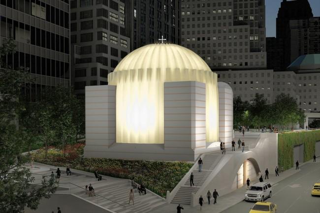 Santiago Calatrava, New York, Ground Zéro