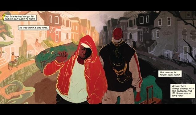 Ghostface Killah feat. Kool G Rap, AZ & Tre Williams, «The Battlefield»