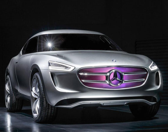Mercedes G-Code Concept 2014