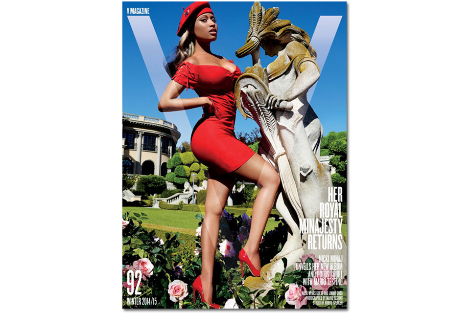 «NICKI MINAJ RETURNS», le shooting minajestueux de la rappeuse pour le V Magazine