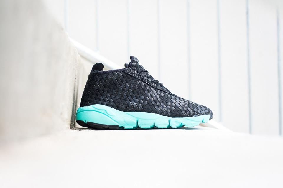 Nike Air Footscape Desert Chukka Black/Hyper Turquoise