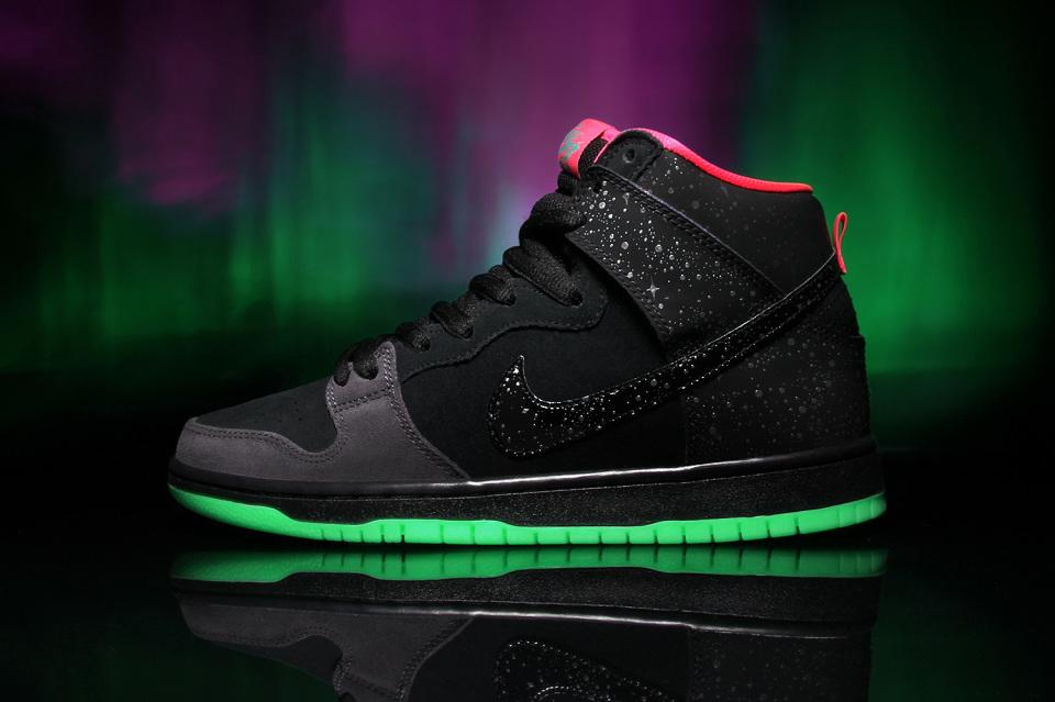 Nike SB x Premier «Northern Lights» Dunk High