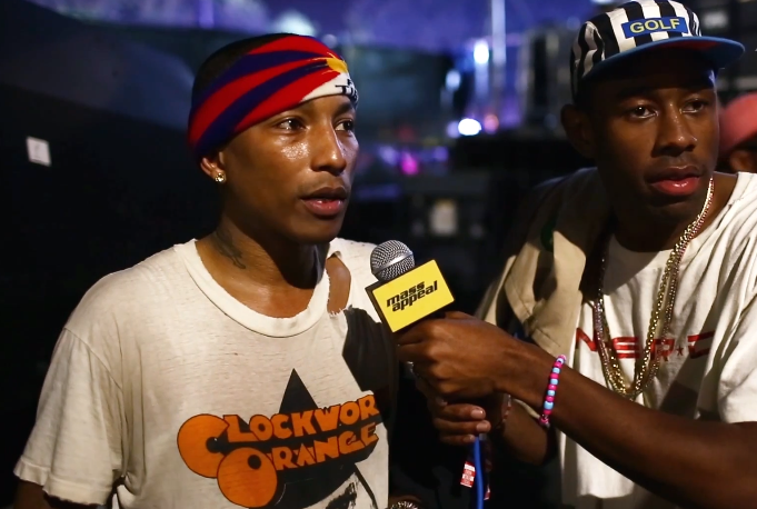 Quand Tyler the Creator interviewe Pharrell au Camp Flog