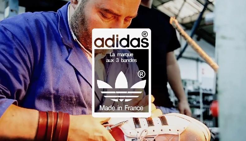 La fabrication «Made in France» de la série limitée Superstar adidas expliquée
