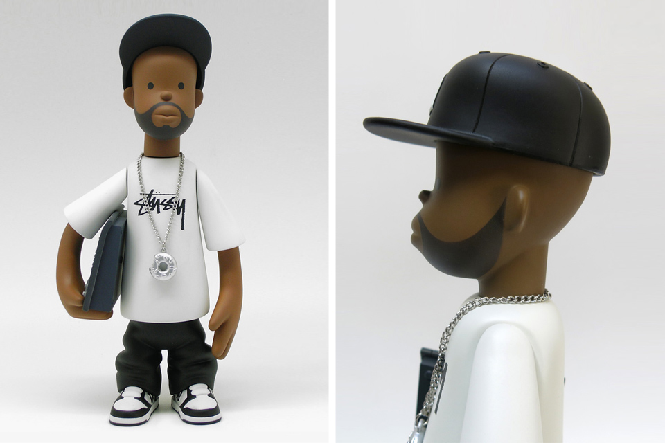 Le toy J Dilla x Stussy de Pay Jay Productions