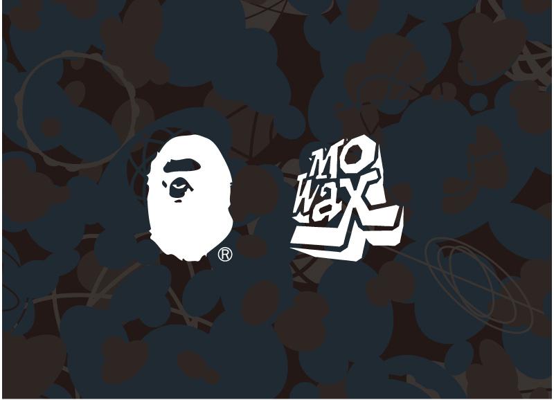 La collection-capsule Mo' Wax x A Bathing Ape 2014