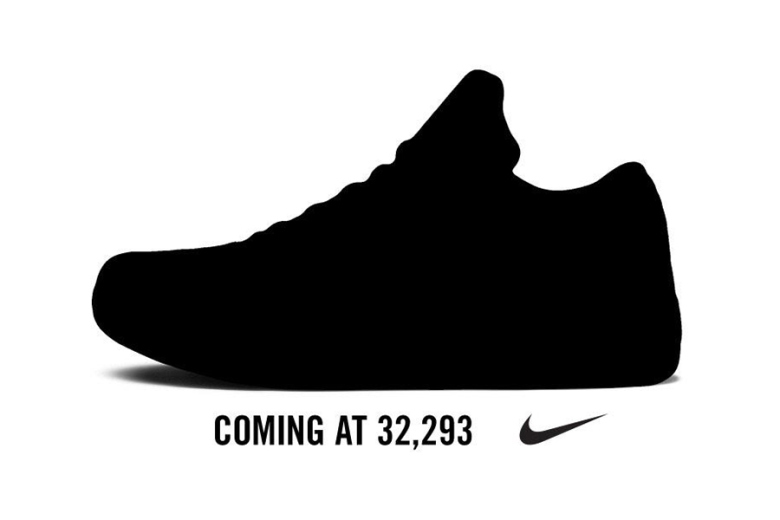 La Nike Kobe X sera dévoilée dans 77 points !