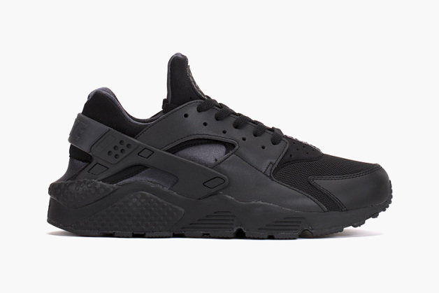 Nike Air Huarache Run PRM QS « Black / Anthracite – Reflective Silver »