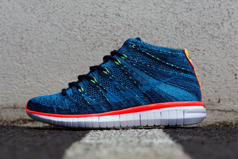 Nike Free Flyknit Chukka : nouvelle collection Holiday 2014