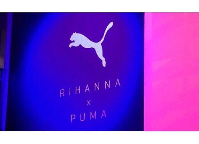 Puma et Rihanna officialisent leur collaboration