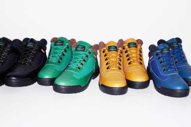 Les Field boots Supreme x Timberland