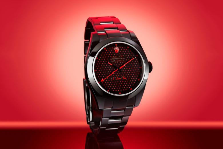Bamford Watch Department Rolex Milgauss «I Love You»