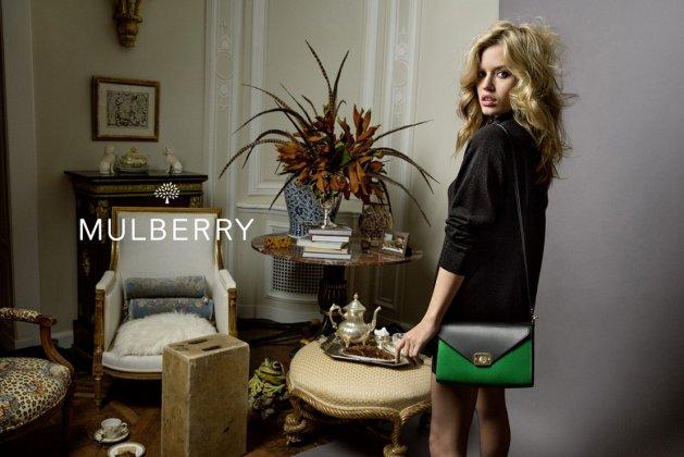 Georgia May Jagger, nouveau visage de Mulberry
