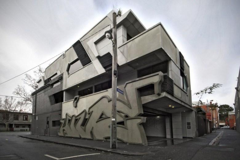 ITN Architects: le graffiti sculpté