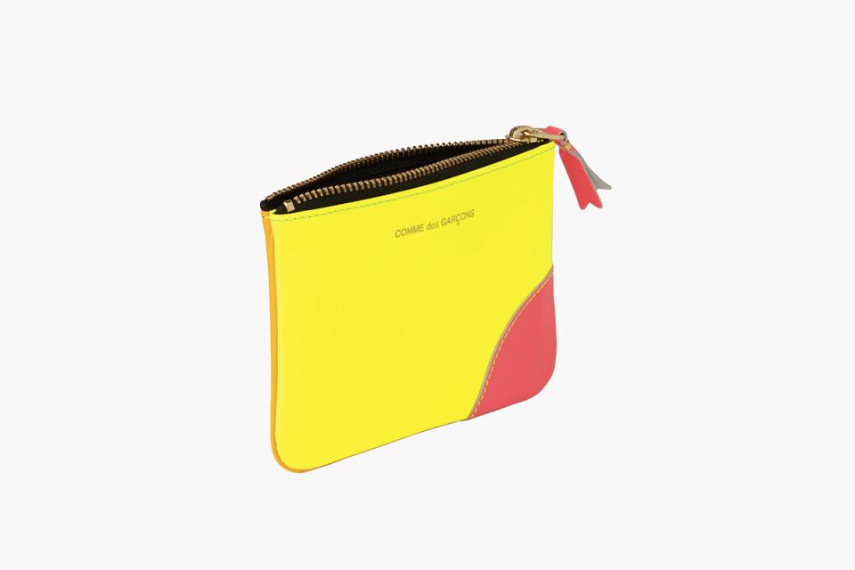 COMME des GARÇONS Neon «Super Fluo» Wallets