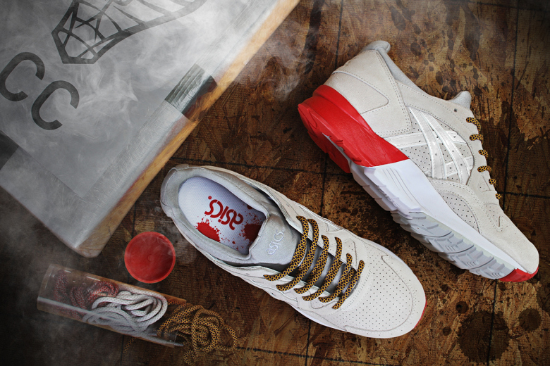 Concepts x ASICS Gel Lyte V Off White/Cream « Blow »