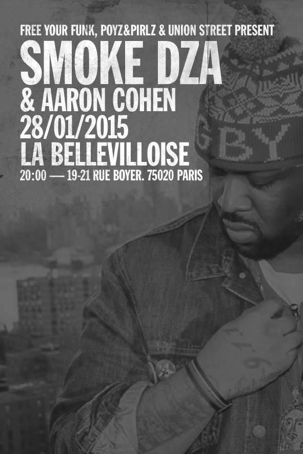 Concours : gagnez 2 places pour le concert de «Smoke DZA & Aaron Cohen» à Paris