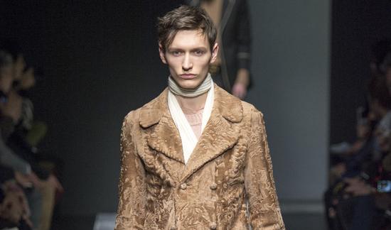 Fashion Week de Milan: le défilé Gucci Homme, Automne-Hiver 2015