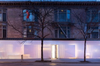 new york, galerie, storefront for art & architecture, steven holl, SO-IL, blue print, exposition, art, design, architecture