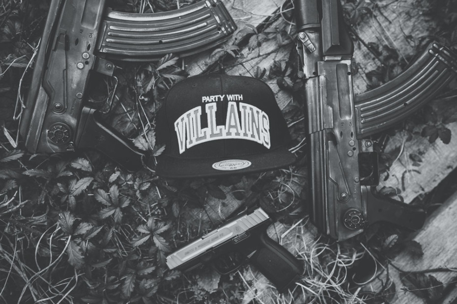 Party With Villains x Mitchell & Ness Snapback