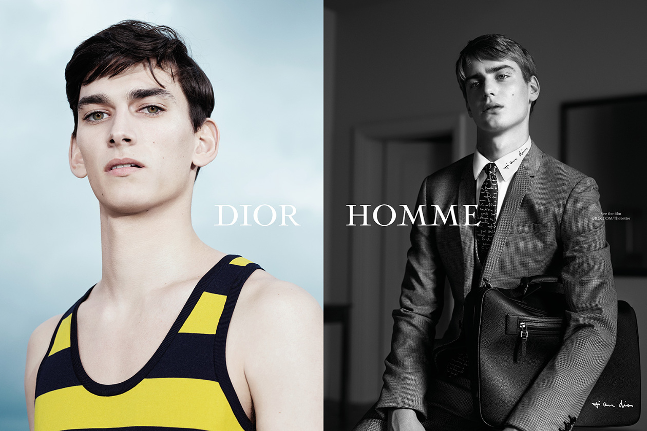 Dior Homme – campagne «The letter»