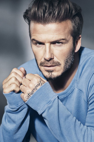 David Beckham s'expose dans les dernières collections de l'enseigne H&M
