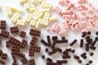 Edible Chocolate Lego's Akihiro Mizuuchi