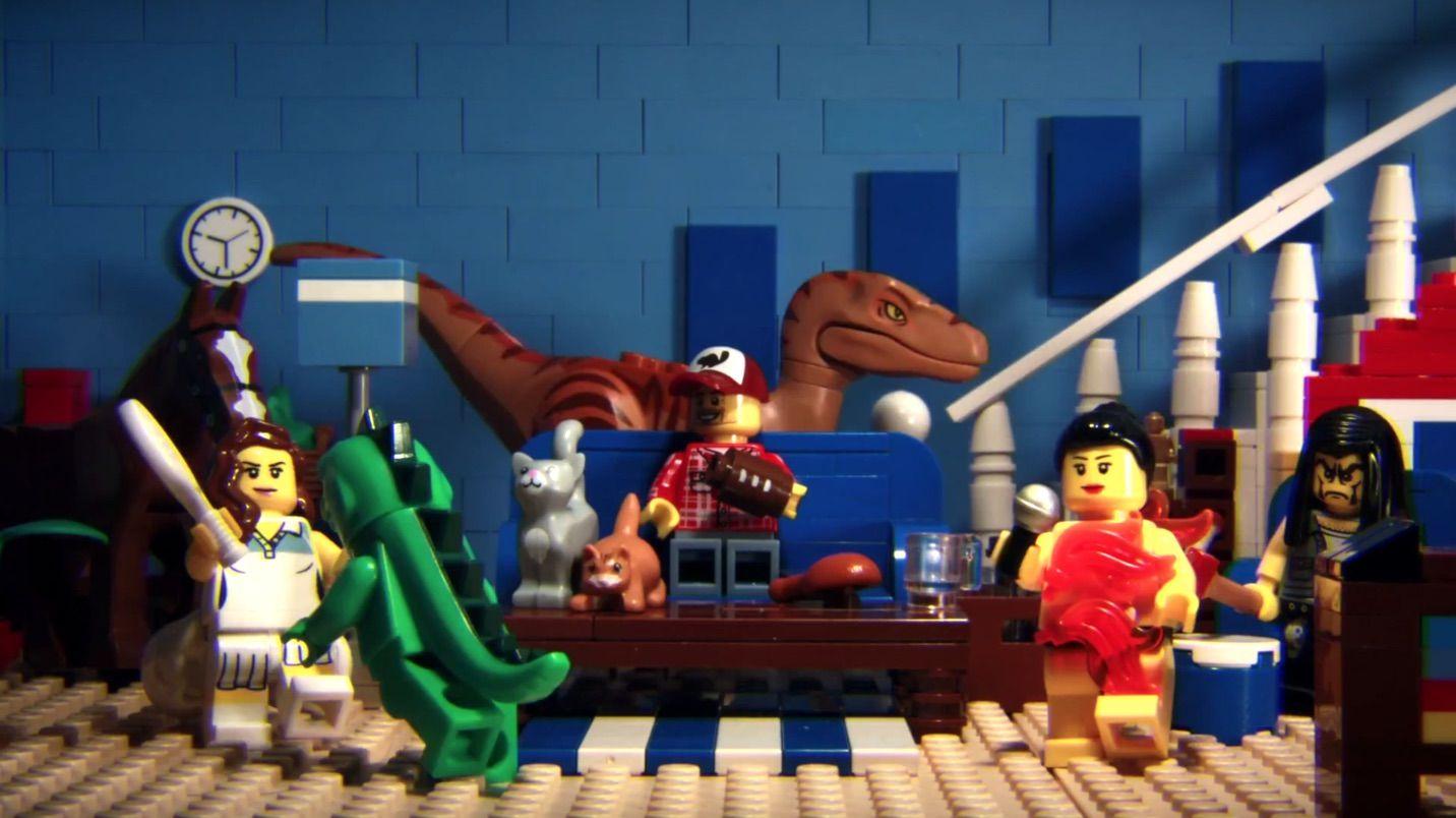 La pub du Super Bowl XLIX version LEGO
